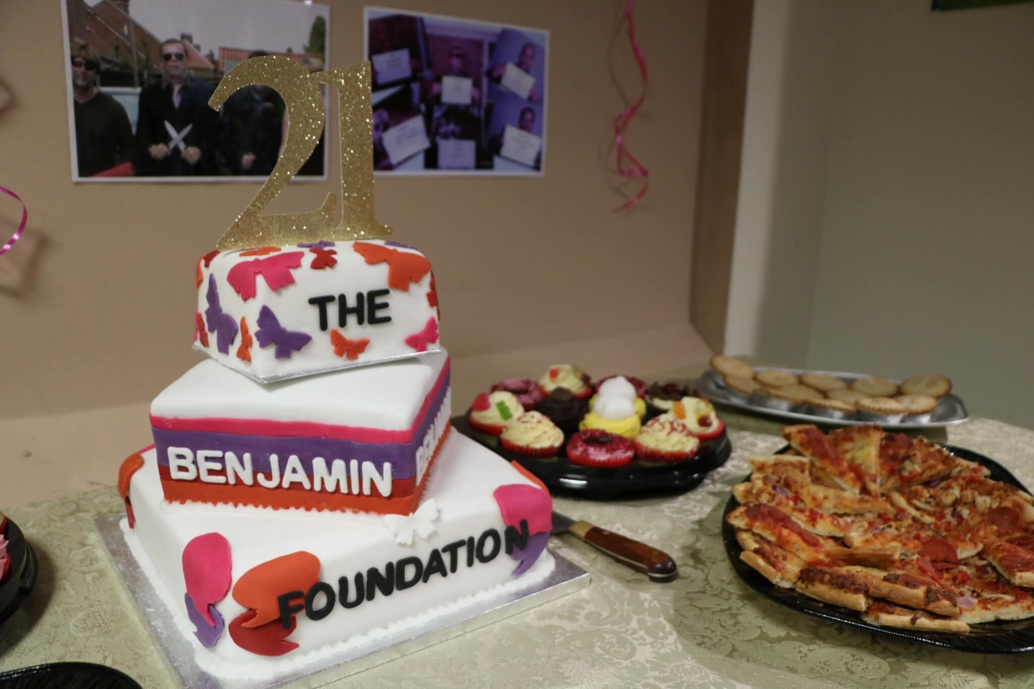 Winston Court's 21st birthday cake