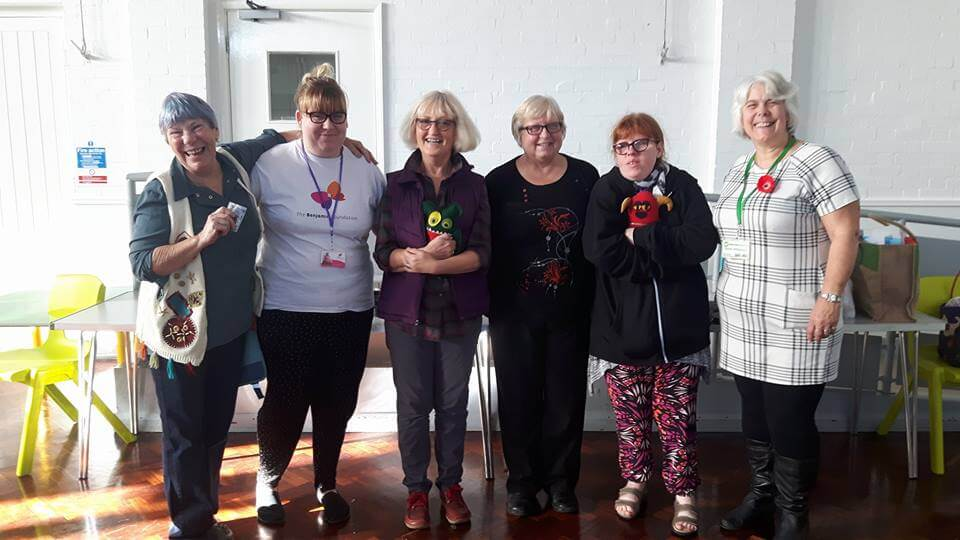 The Butterfly Butties Lunch Club team