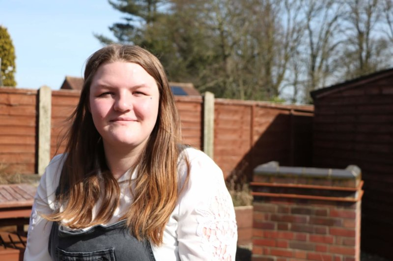 A young person we have supported at one of our accommodation centres