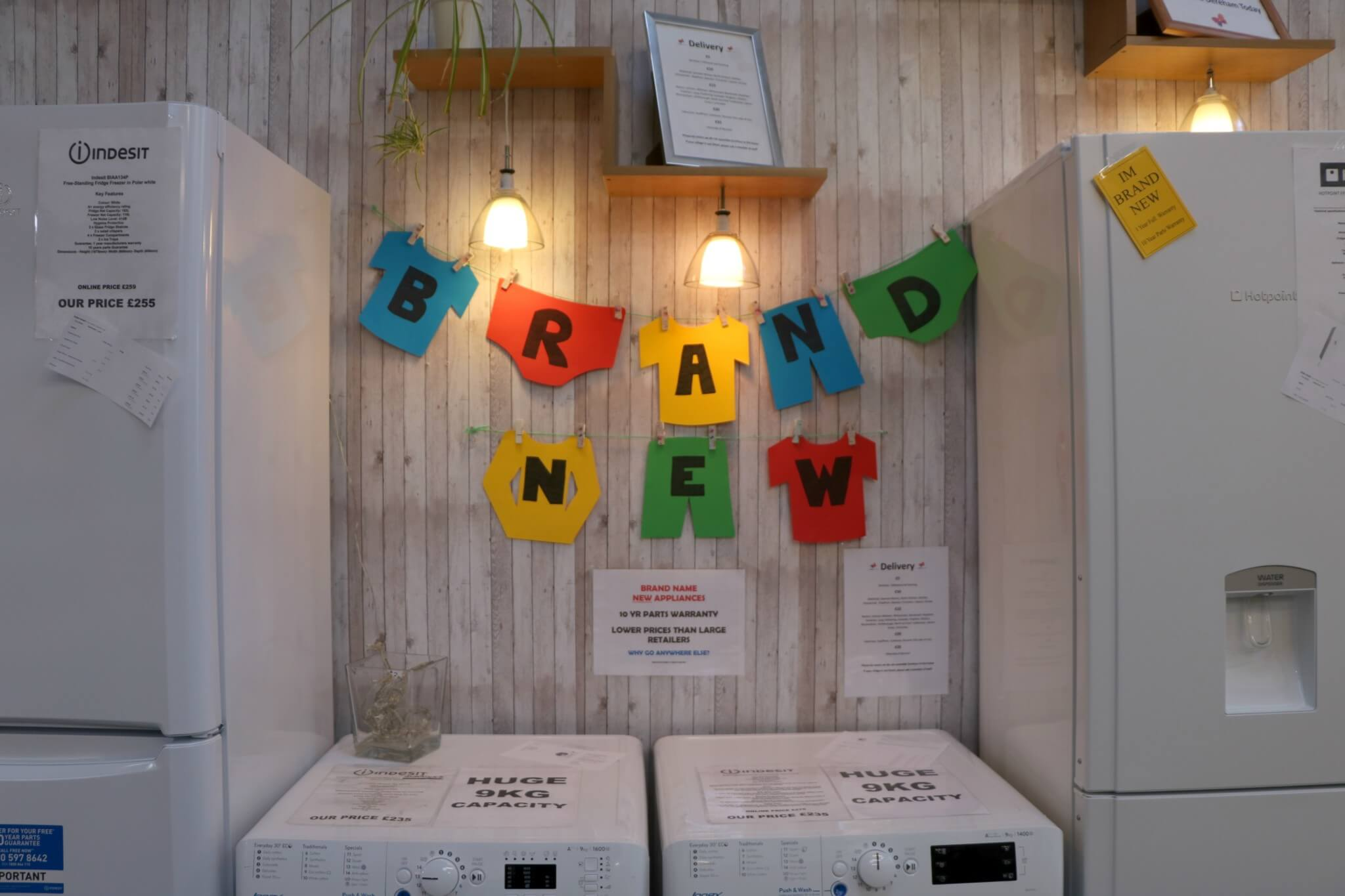 Dereham Furniture Store - New White Goods