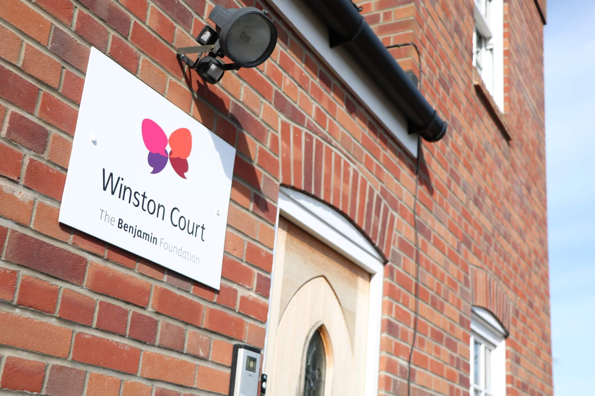 Winston Court - sign