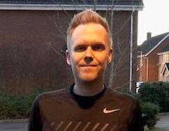 Chris Shearing Marathon Runner